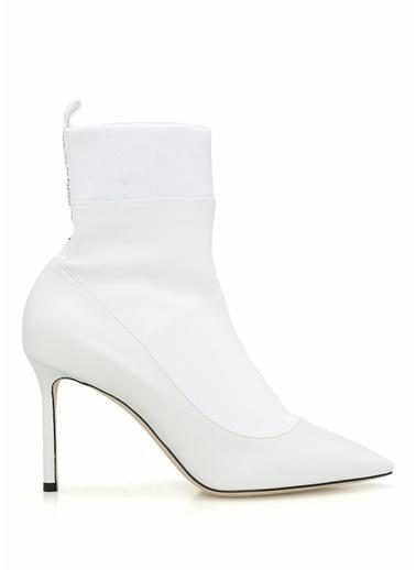 Jimmy Choo Bot Beyaz